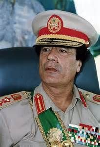 Gaddafi, Muammar - revolutionary leader of Libya