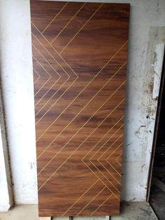 Flush Door Design, Grill Door Design, Door Design Interior, Interior Design Photos, Main Entrance Door Design, Wooden Main Door Design, Mdf Doors, Wood Doors, Modern Bedroom Design