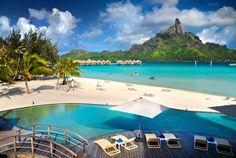 Le Meridien Bora Bora - Infinity Pool