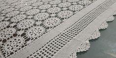 Handmade Crochet Tablecloth Rectangle, White, 120x160cm/47.2x63in Plaid Tablecloth, Crochet Tablecloth, Large Tablecloths, Lace Doilies, Hand Crochet, Cross Stitch, Delicate, Colours, Punto De Cruz
