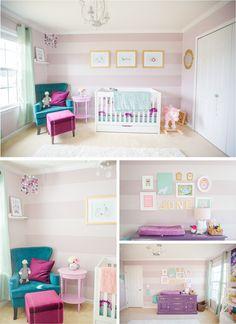 decoracao quarto menina rosa16