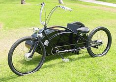 Sidecars are the absolutely coolest things you can build, after you've built a bicycle.