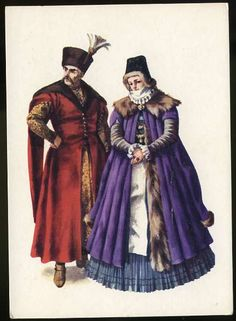 Folklore of Poland: Traditional costumes. (Part I) Illustrations by Maria Orlowska-Gabryś. (source) Traditional costume from century. Traditional costume from century. Polish Clothing, European Costumes, Period Outfit, Historical Costume, Beautiful Outfits, Mario, Culture, History, Portrait