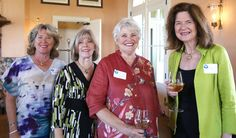 The lovely Marsh Island Clubhouse was once again the setting for an afternoon tea – augmented by wine and lots of tasty goodies – to kick off the sixth season of the Circle, an all-volunteer philanthropic group of women who support the Vero Beach Museum of Art Community Engagement Programs.