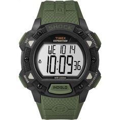 crayo cr0907 rugged mens watch products rugged men and watches timex men s tw4b09300 expedition base shock green black resin strap watch