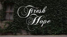 A moving video about a Christian mental health support groups called Fresh Hope  www.FreshHope.us