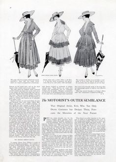 Chanel jersey suit (1917)   Coco Chanel #CocoChanel #ChanelModes #ChanelVintage Visit espritdegabrielle.com   L'héritage de Coco Chanel #espritdegabrielle