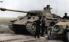 Char panther en Russie. Division wiking.