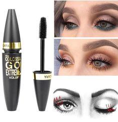 fd998385423 Mascara waterproof noir, EYELASH #waterproof#Mascara#EYELASH Professional  Makeup, Eyeshadow Palette