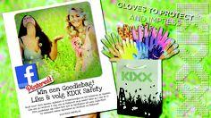 """Win een KIXX Goodiebag! Nooit meer vieze handen, splinters of schaafwondjes na het tuinieren en klussen. Onder onze nieuwe """"likers"""" en """"volgers"""" verloten wij 10 KIXX goodiebags, boordevol hardlopers uit onze collecties. www.kixx-safety.nl"""