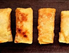 How to easily make spring roll dough. The real one! FÁCIL Y SIN GLUTEN! Gluten Free Recipes, Vegetarian Recipes, Healthy Recipes, Delicious Recipes, Masa Brick, Crepes, China Food, Empanadas, Mini Foods