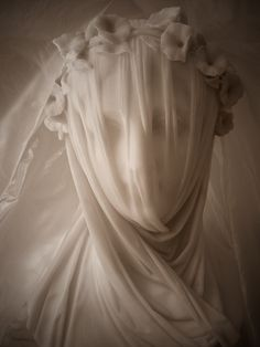 Veiled in Alabaster; it's hard to believe this is stone and not fabric.