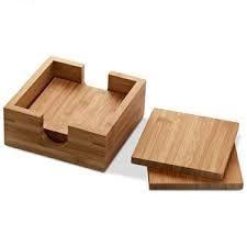 Resultado de imagen para posavasos de madera