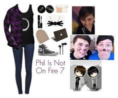 """""""Phil Is Not On Fire 7"""" by charbear231 on Polyvore featuring Frame Denim, Harley-Davidson, Converse, Christian Dior, White + Warren and Master & Dynamic"""