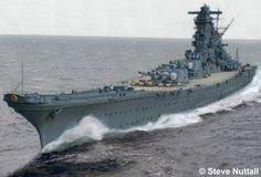 IJN Battleship Yamato - 日本海軍戦艦-大和!