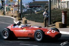 Hill-Phil 1960 Portugal - Ferrari 246 -