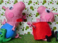 Eu Amo Artesanato: A Turma da Peppa Pig