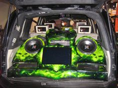 Lime Green Sound System