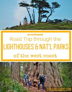 An ideal Northern California road trip through lighthouses and National Parks, and up onto the Oregon Coast. Amazing family travel experience! 2traveldads.com