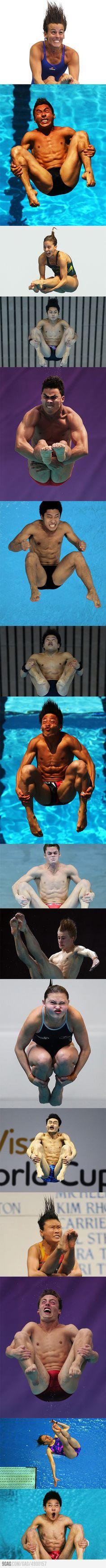 Olympic Divers. hahaha!