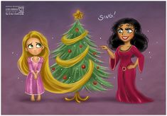 Poor Rapunzel... Had I her hair, I would have cut it myself! :P