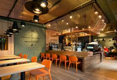 DogAteDove (Ukraine), Europe restaurant///Designer: YOD Design Lab