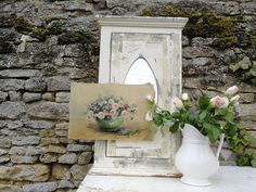 Beautiful hand painted oil painting on canvas sourced in FranceSignedPrice includes uk p