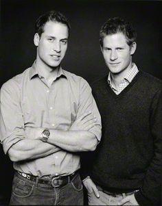 Prince William & Prince Harry