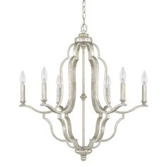 Found it at Wayfair - Amelia 6 Light Candle Chandelier