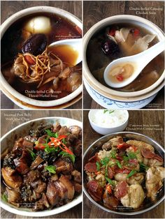Cuisine Paradise | Singapore Food Blog | Recipes, Reviews And Travel: 4 Quick Recipes On Soup And Dishes