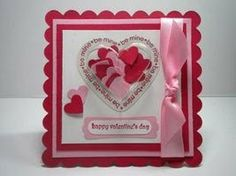 Peanuts and Peppers Papercrafting: Stampin' Up Heart Treat Cup Valentine's Card