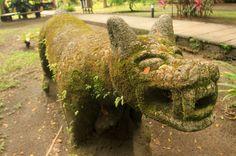 turtle beach lodge statue   - Costa Rica