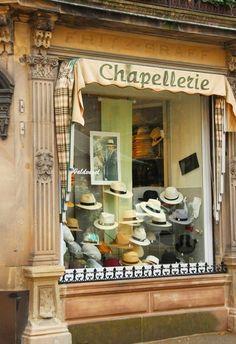 Art of hat, Paris, France I Love Paris, Boutiques, Vintage Store, Vintage Boutique, Ivy House, Belle Villa, Shop Fronts, Shop Around, Flower Shops