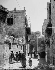 Ottoman Jerusalem, 1900.    #Islam #Sufism #Esoterism #Mysticism #Spirituality #God #Religion #Allah