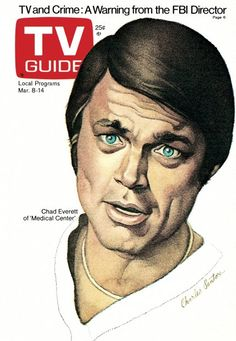 tv guide covers archive | TV Guide covers of the 1970s illustrated by Charles Santore