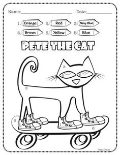 click to see printable version of pete the cat and his four groovy buttons coloring page pete the cat pinterest cats the ojays and coloring pages