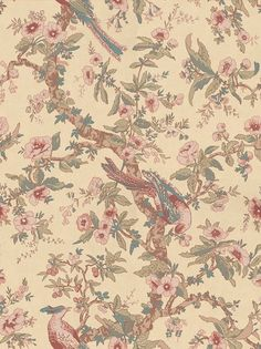 Zoffany Chintz Antique Wallpaper main image