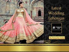 Peach Color Designer Wedding Lehenga for this collection log on to @ www.panacheindia.com #indian #wedding #lehenga #indianwear #india #lehenga #wedding #photoshoot #marriage #indianmarriage #bridalwear #bridal #ethnicwear #ethnic