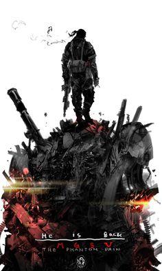 MGS5 The Phantom Pain promo wallpaper