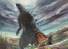 Godzilla - prehistoric survival