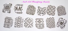 Nail Art Stamping Mania: Cici&Sisi Set Jumbo 6 Swatches And Review
