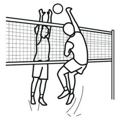 Is your children too small to play volleyball? They can still enjoy the sport by coloring these realistic and cartoon volleyball players and Sports Coloring Pages, Gold Shelves, Face Sketch, Beach Scenes, Matching Games, Colorful Pictures, Coloring Books, Crafts For Kids, Volleyball
