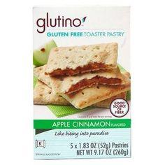 Glutino Toaster Pstry Apl/Cinn (6x9.17OZ )