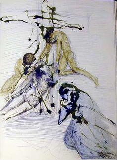 Salvador Dali (1904 - 1989) | Symbolism, Expressionism | De cruce depositio - 1967