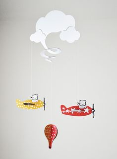 Cloud Spiral Mobile | Wayfair
