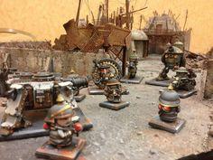 James Wappel Miniature Painting: Rivet Wars Kickstarter
