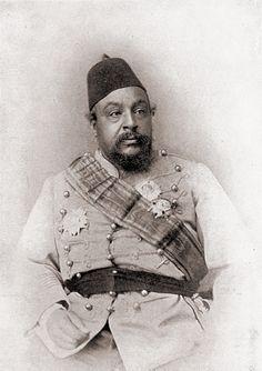 Antonio Cavilla Photographer: His Highness , the late Hadj Abdeslam Ben Alarbi late patron Saint of Morocco, Grand Shereef of Wazan.