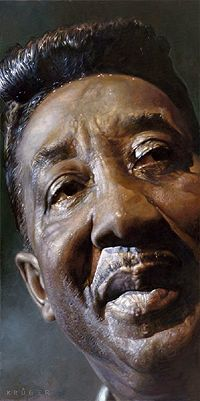 THERE IS SOMETHING ABOUT BLACK PORTRAITS I JUST LOVE: Krüger Blues Legends