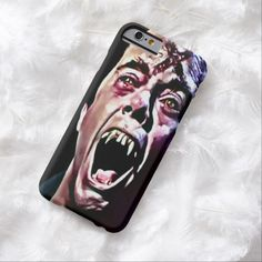 Burning Vampire Airbrush Art iPhone 6, Barely There Case by Wraithe Designs.