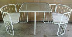Emu Italy Wire Chairs Table Bistro Set Mid Century Modern MCM Vintage Retro | eBay